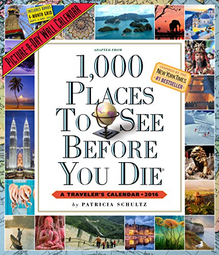 9780761183495: 1,000 Places to See Before You Die 2016. Wall Calendar (2016 Calendar)