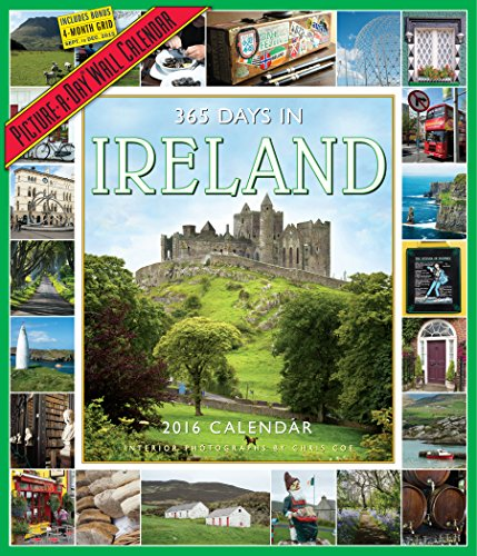 9780761183501: 365 Days in Ireland Picture-A-Day Wall Calendar 2016 (2016 Calendar)