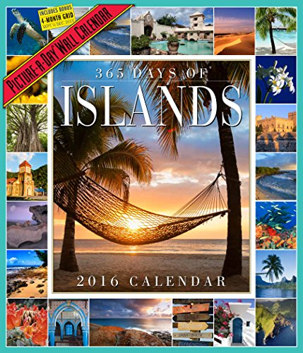 9780761183518: 365 Days of Islands Picture-A-Day Wall Calendar 2016