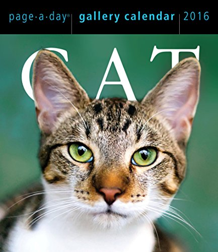 9780761183556: Cat Page-A-Day Gallery Calendar 2016