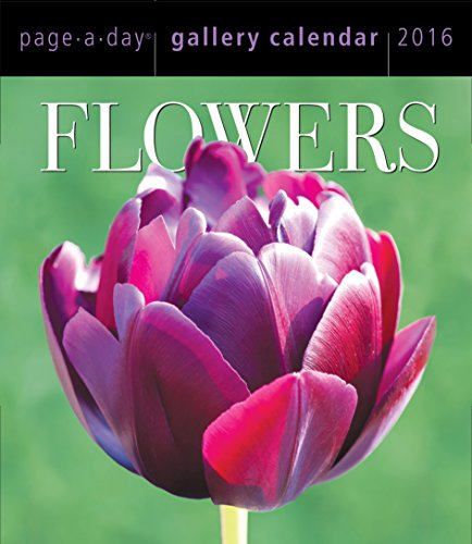 9780761183563: Flowers Page-A-Day Gallery Calendar 2016