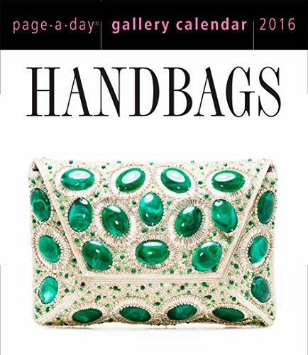 9780761183570: Handbags Page-A-Day 2016 Gallery Calendar (2016 Calendar)