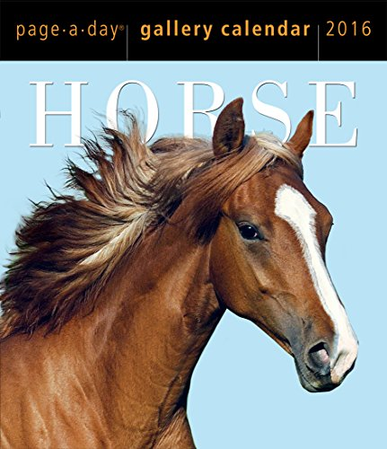9780761183587: Horse Page-A-Day Gallery Calendar 2016