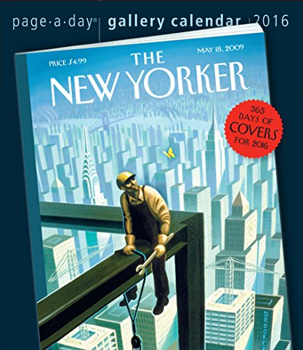 9780761183600: The New Yorker 365 Days of Covers 2016 Gallery Calendar