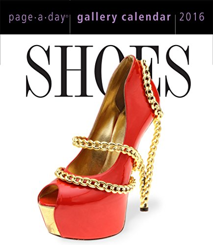 9780761183617: Shoes 2016 Gallery Calendar