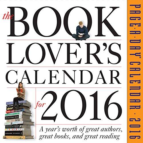 9780761183693: Book Lover's Page-A-Day Calendar 2016 (2016 Calendar)