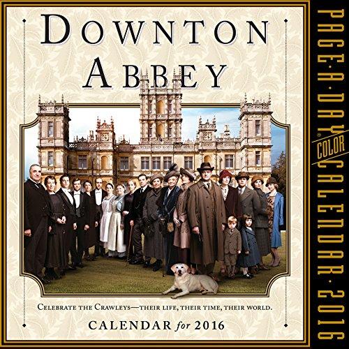 9780761183716: Downton Abbey Color Page-A-Day Calendar 2016