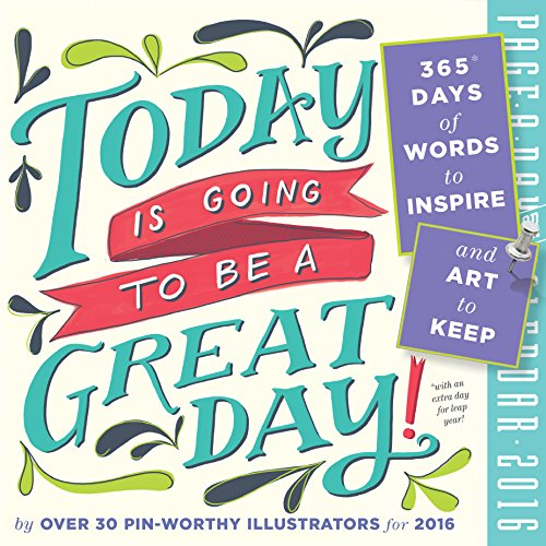 9780761183723: Today is Going to Be a Great Day! 2016 Page-A-Day Calendar (2016 Calendar)