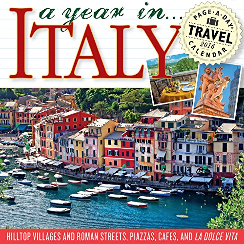 9780761184041: A Year in Italy Color Page-A-Day Calendar 2016