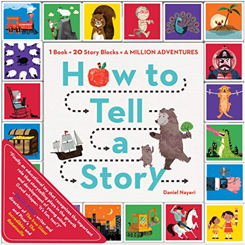9780761184577: How to Tell a Story: Read the Book, Roll the Blocks, Build Adventures!