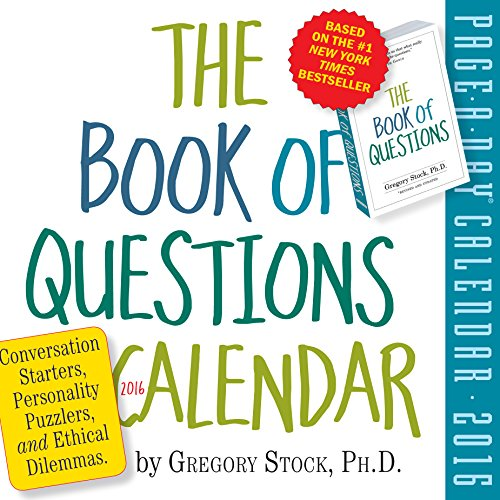 9780761184898: Book of Questions Page-A-Day Calendar 2016 (2016 Calendar)