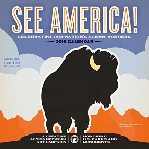 9780761185055: See America! 2016 Calendar