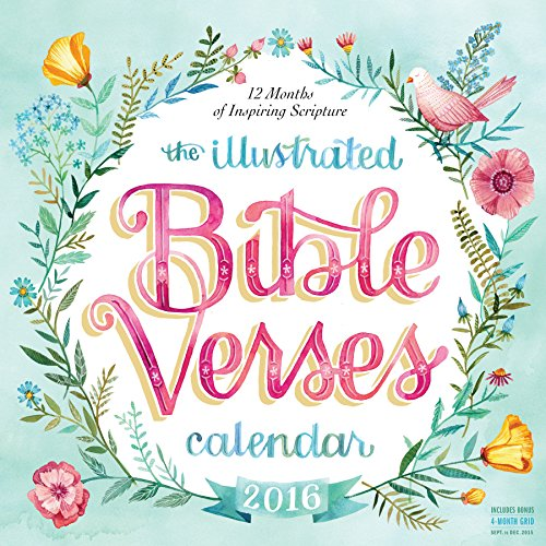 9780761185215: Illustrated Bible Verses 2016 Wall Calendar (2016 Calendar)