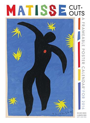 9780761185239: Matisse Cut-Outs Frameable Poster 2016 Calendar