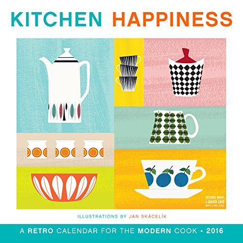 9780761185246: Kitchen Happiness Wall Calendar 2016