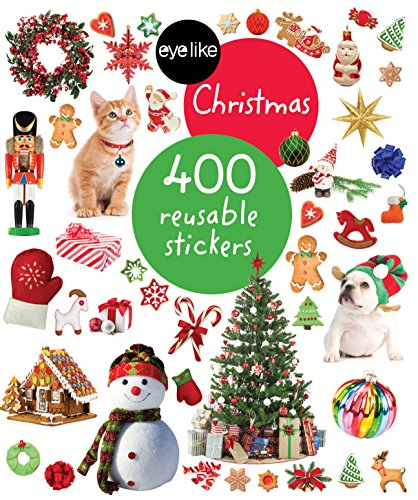 9780761186144: Eyelike Stickers: Christmas