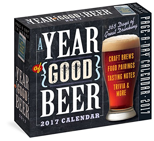 9780761188148: A Year of Good Beer Page-A-Day Calendar 2017