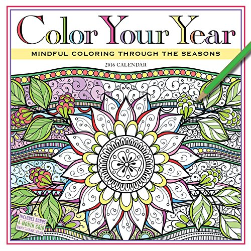9780761188278: Color Your Year: Mindful Coloring Through the Seasons
