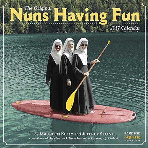 9780761188438: Nuns Having Fun Wall Calendar 2017