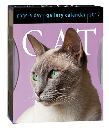 9780761188629: Cat Page-A-Day Gallery Calendar 2017