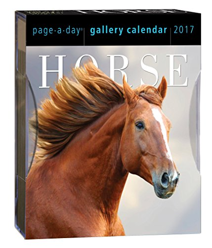 9780761188643: Horse Page-A-Day Gallery Calendar 2017