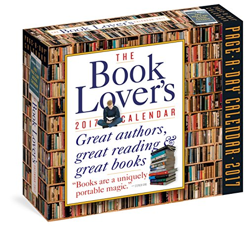 9780761188711: The Book Lover's Page-A-Day Calendar 2017