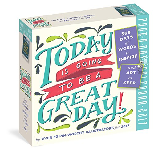 9780761188728: Today Is Going to Be a Great Day! Page-A-Day Calendar 2017