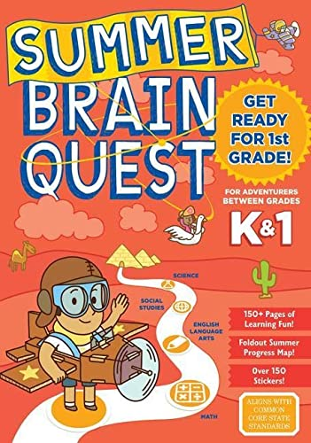 9780761189169: Summer Brain Quest: Between Grades K & 1