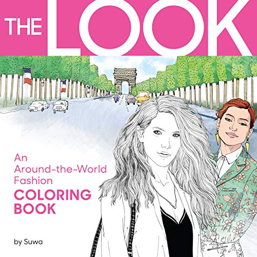 9780761189305: The Look: An Around-the-World Fashion Coloring Book