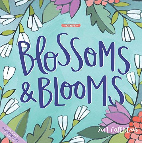 Blossoms & Blooms Wall Calendar 2017