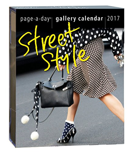 9780761191056: Street Style Page-A-Day Gallery Calendar 2017