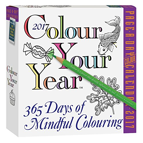 9780761191551: 2017 Colour Your Year Page A Day
