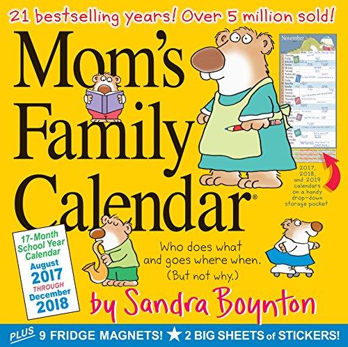 Mom's Family Wall Calendar 2018 (Calendar)