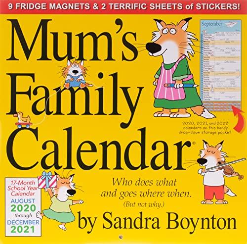 9780761196716: 2021 Mums Family Calendar