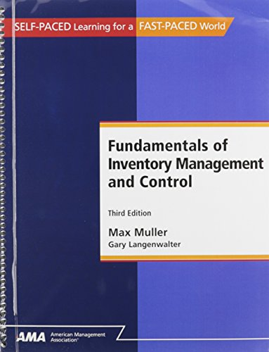 9780761213505: Fundamentals of Inventory Management and Control