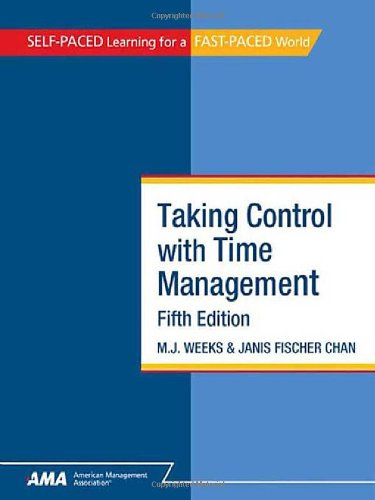 9780761214380: Taking Control with Time Management (Self-Paced Learning for a Fast-Paced World)