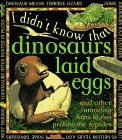 I Didn'T Know:Dinosaurs L Eggs (I Didn't: Kate Petty
