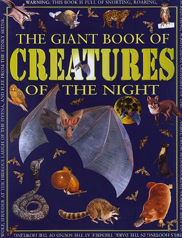 Creatures Of The Night (Giant Book of): Jim Pipe