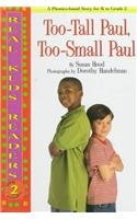 9780761320210: Too-Tall Paul,Too-Small Paul (Real Kids Readers, Level 2)
