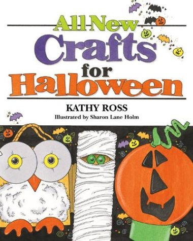 9780761325543: All New Crafts for Halloween (All-New Holiday Crafts for Kids)