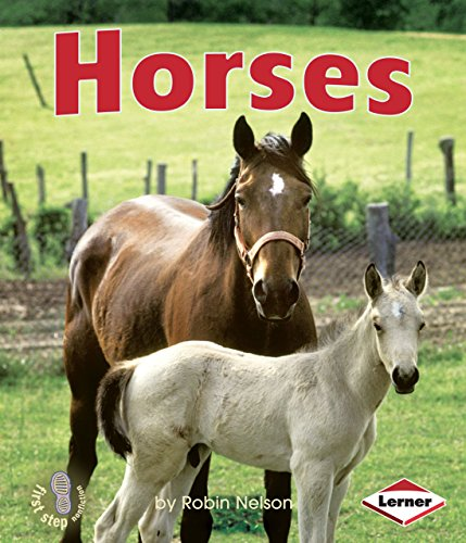 9780761340997: Horses (First Step Nonfiction Farm Animals)