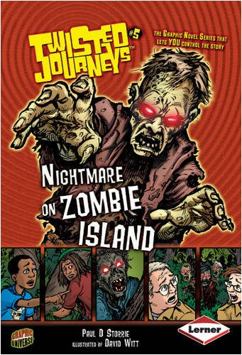 9780761344100: Nightmare on Zombie Island (Twisted Journeys)