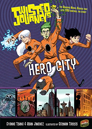 Hero City 22 (Twisted Journeys R) (Graphic: Evonne Tsang