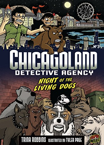 9780761346166: Night of the Living Dogs (Chicagoland Detective Agency) (Graphic Universe)