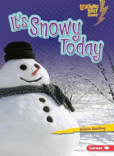 9780761350217: It's Snowy Today (Lightning Bolt Books)