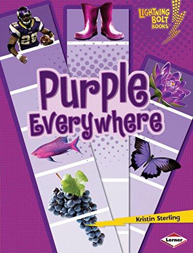 Purple Everywhere (Lightning Bolt Books) (Lightning Bolt Books: Colors Everywhere (Library)): ...