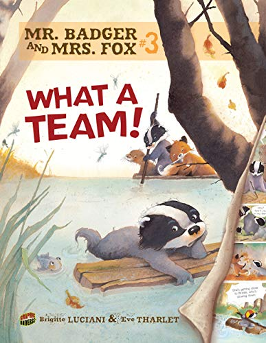 Mr Badger and Mrs Fox: What a Team