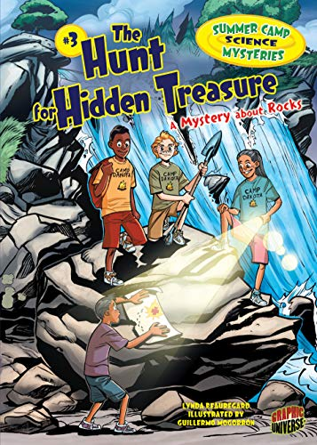 9780761356905: The Hunt for Hidden Treasure: A Mystery about Rocks (Graphic Universe)