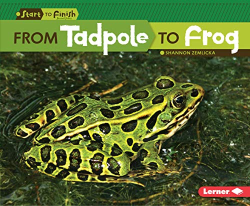 9780761365655: From Tadpole to Frog (Start to Finish, Second (Library))