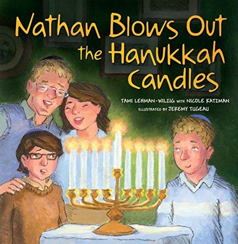9780761366584: Nathan Blows Out the Hanukkah Candles
